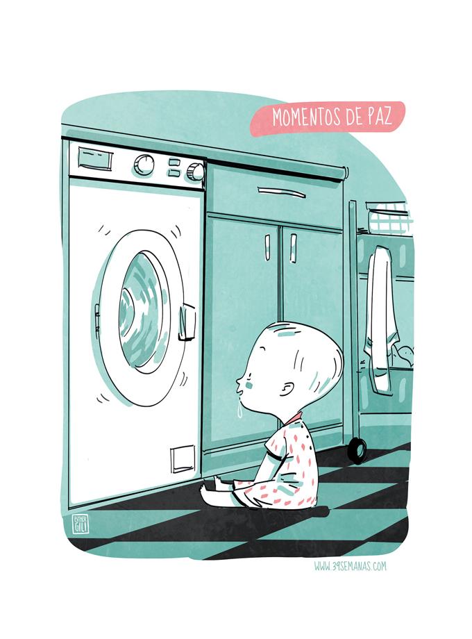 ¿Por qué tienen fijación con la lavadora?
