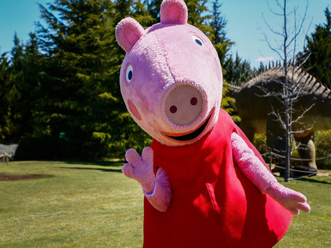 Peppa Pig en Faunia