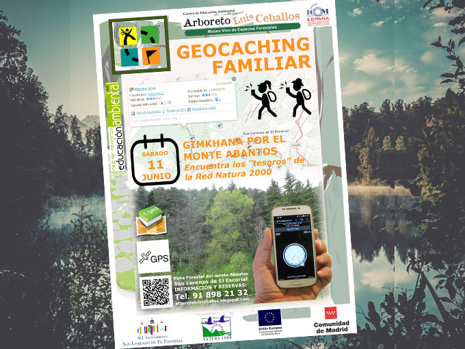 Geocaching familiar por el Monte Abantos