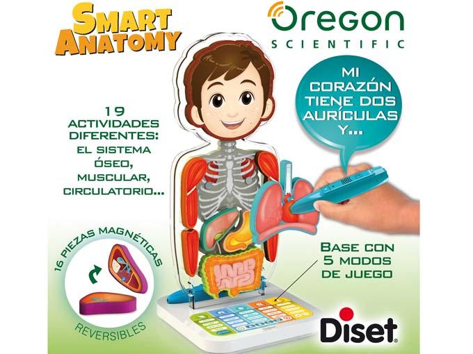 Categoría de Juguete Electrónicos de Aprendizaje: Smart Anatomy, de Diset.