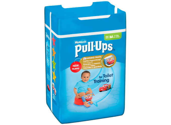 Calzoncillos y braguitas de aprendizaje Huggies® Pull Ups®