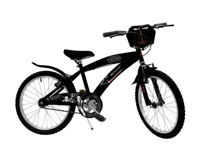 Bicicleta de Star Wars