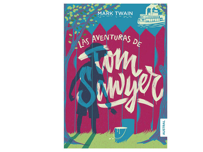Las aventuras de Tom Sawer, de Mark Twain
