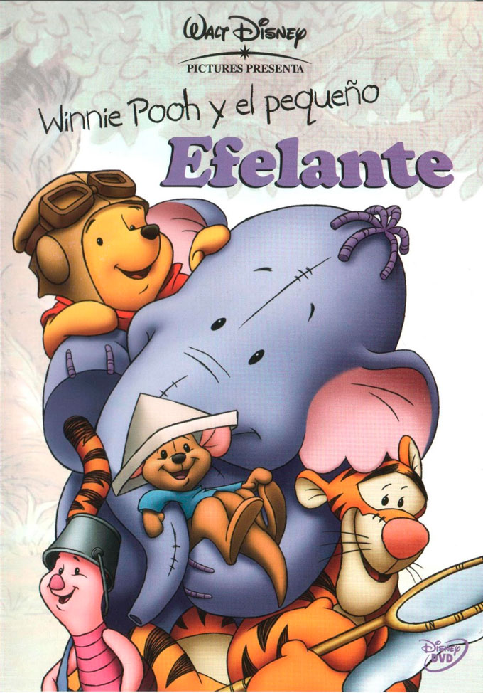 Winnie the Pooh y el Elefante en Halloween
