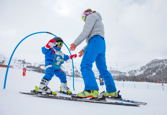 Esquiar con niños en Grandvalira (Andorra)
