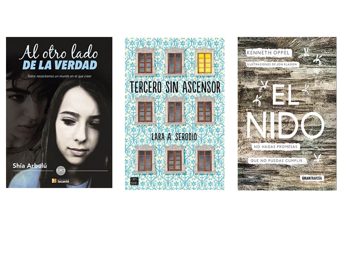 Novedades literarias para adolescentes