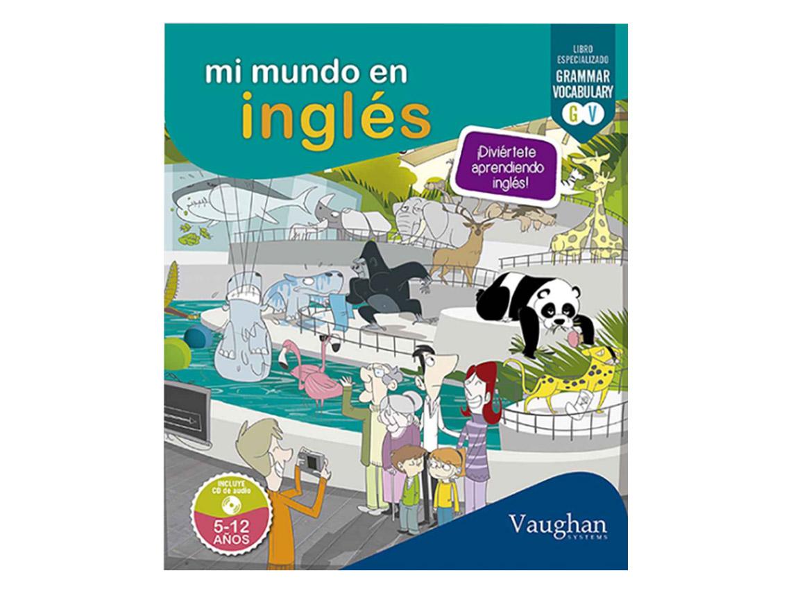 Los 13 mejores libros para que los niños aprendan inglés - Mi mundo en inglés