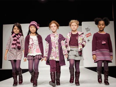 Moda infantil Invierno 2011. Girandola