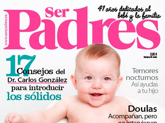 ¿Quieres ver cómo se hace una portada de Ser Padres?