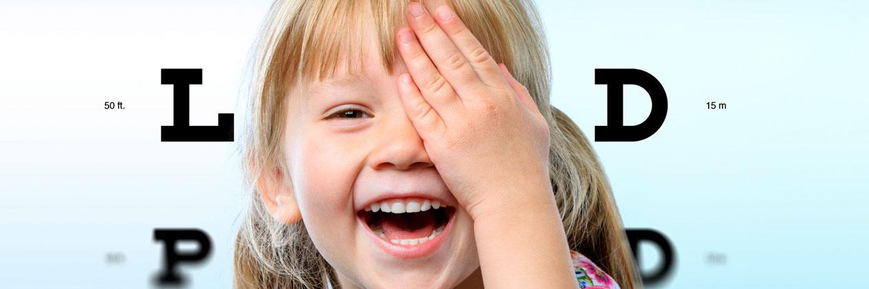 Problemas oculares en niños: miopía